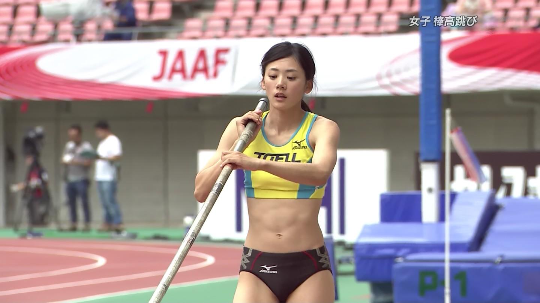 【※速報・放送事故※】日本陸上選手権で走り幅跳び選手の割れマンコがライブ中継されるwwwwwwwwwwwwwwwww(画像あり)