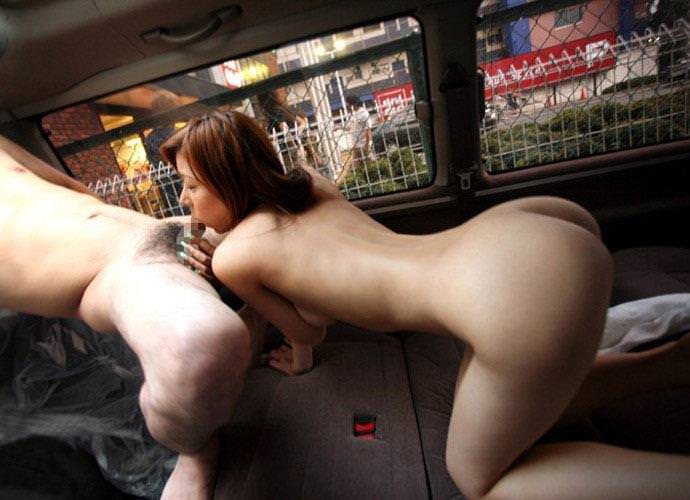 車内フェラ 8