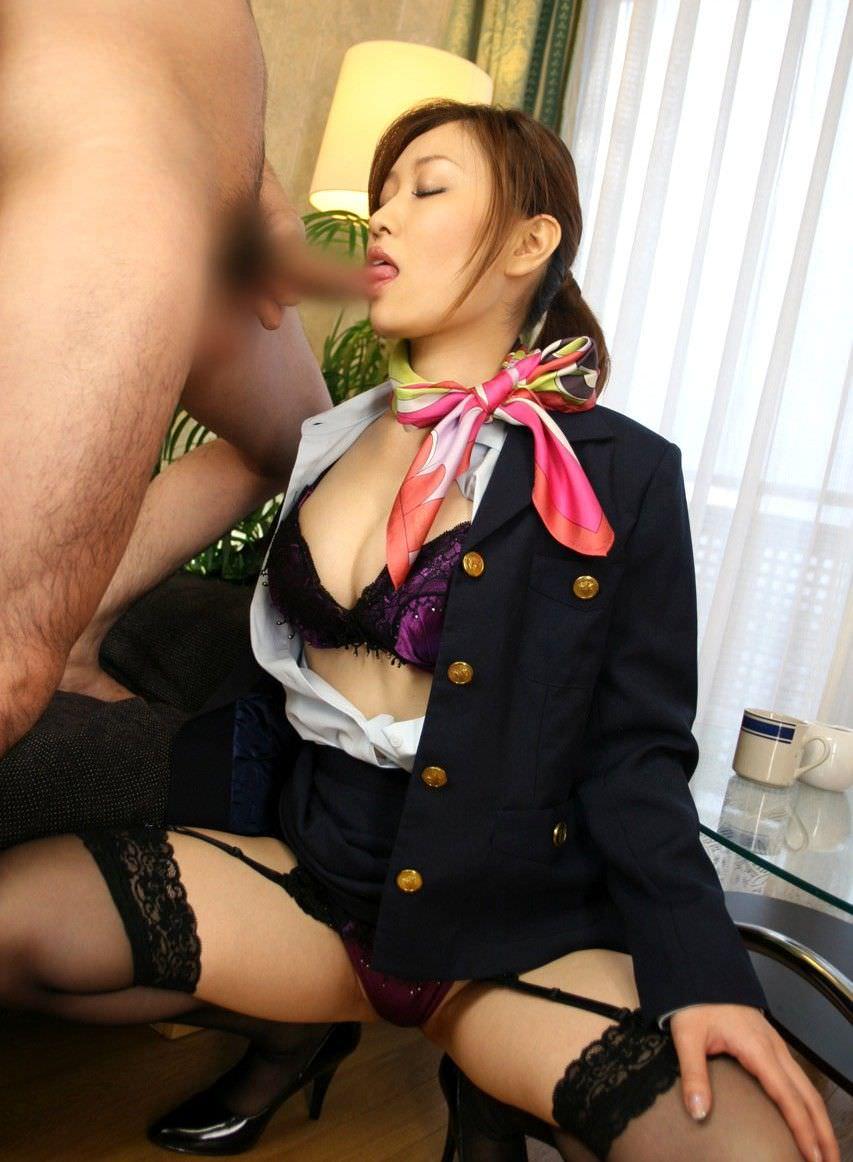 色んな職業の女の子のフェラ 9