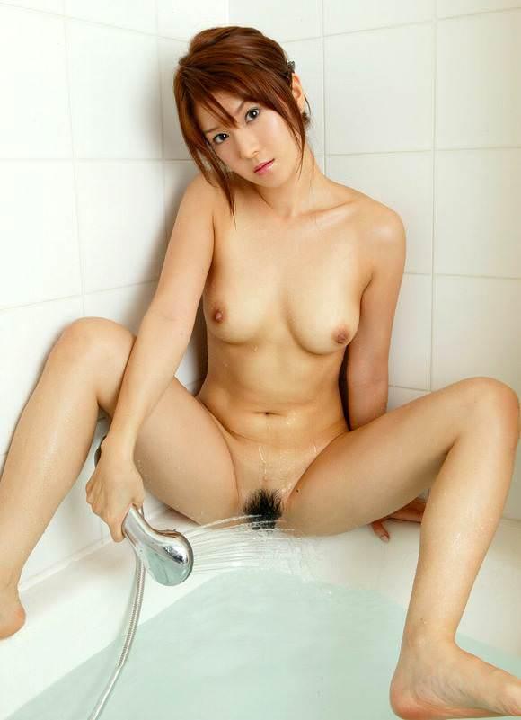 シャワーオナニー中の女の子 8
