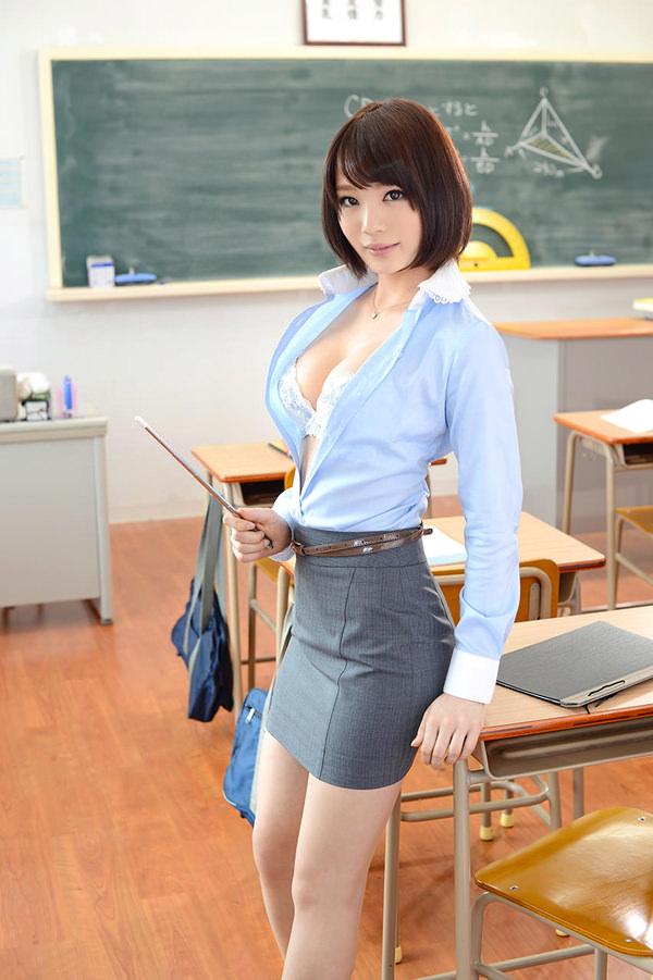 指示棒もってる女教師 31