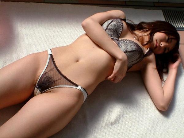 可愛い下着姿のスレンダー美少女 24