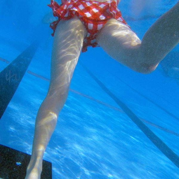 水中で撮った水着 27