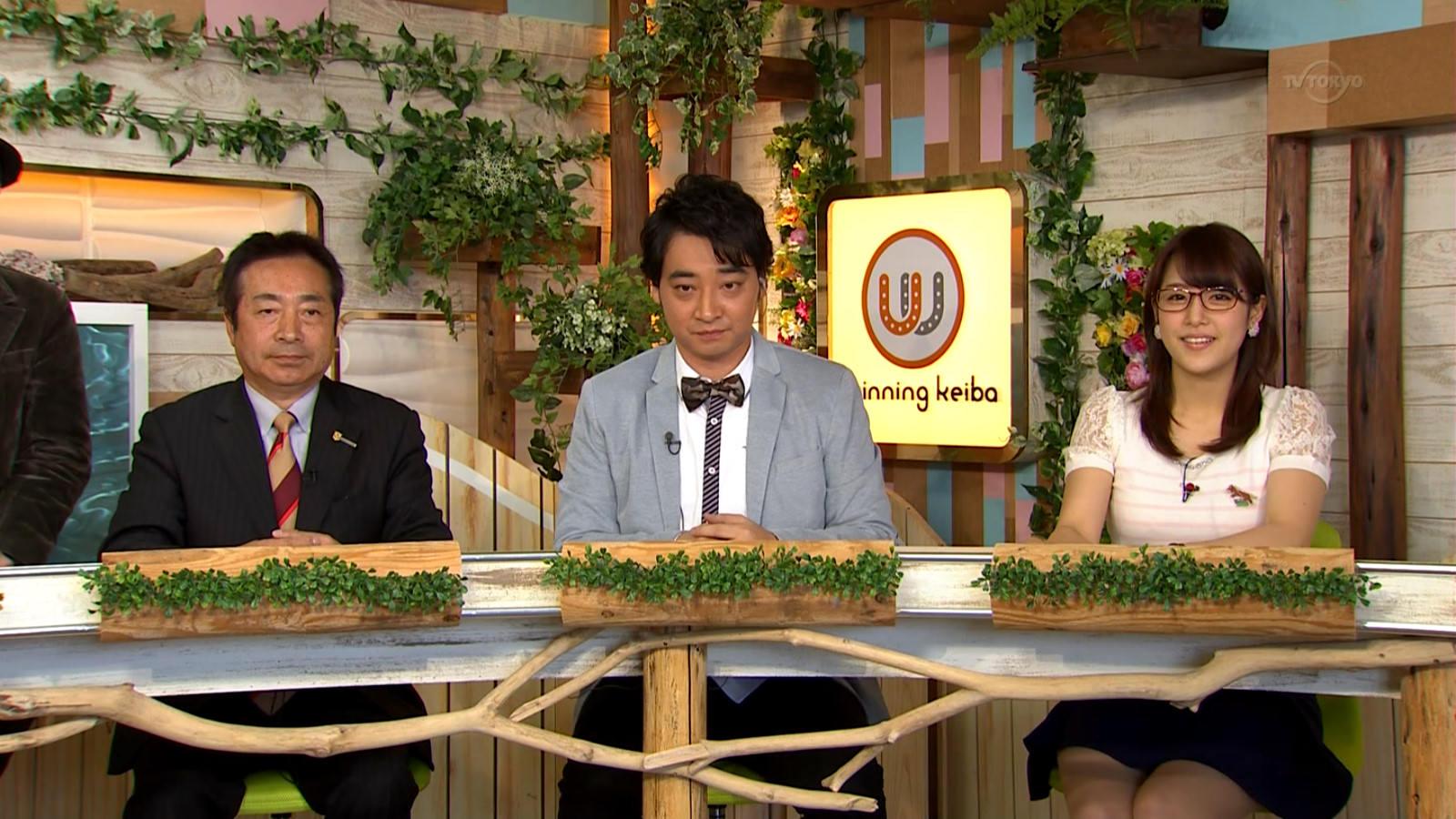 【GIF】鷲見玲奈アナが本日おっぱい発射wwww