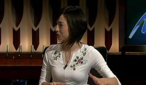 """滝川クリステル(37)ノーブラで""""おもてなし""""⇒乳首ポッチしてるぞwww(※画像あり)"""