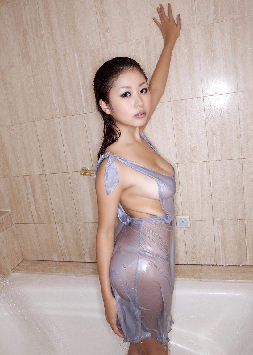 着衣濡れ濡れ透け透け 20