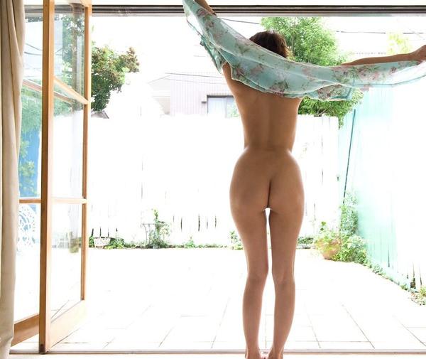 美しい全裸の後姿 14