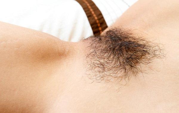 薄いマン毛 12