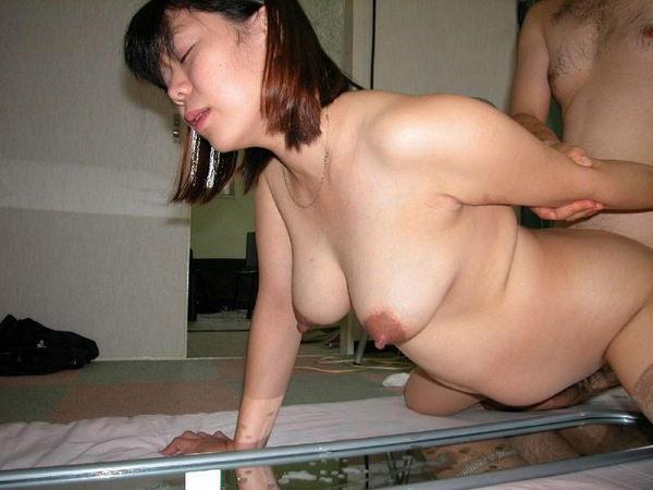 黒乳首した妊婦ヌード 22