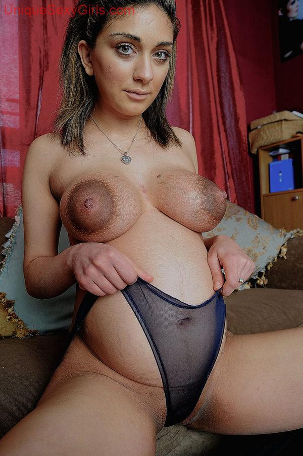 外国人妊婦のマタニティーヌード 33