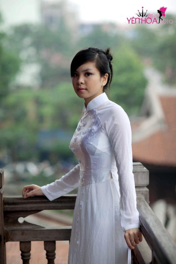 アオザイ姿のベトナム美女 20