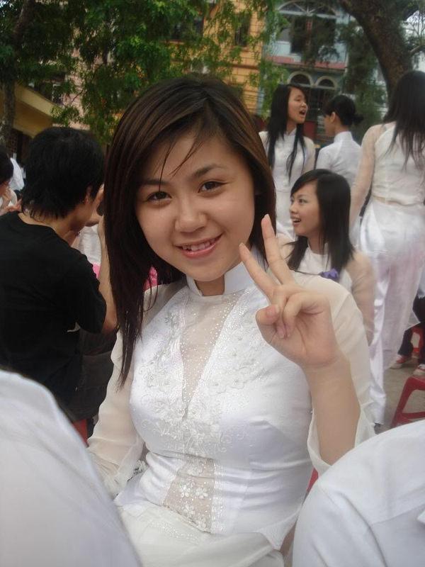 アオザイのベトナム美女 30