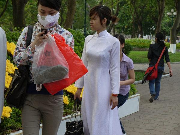 アオザイ姿のベトナム美女 46