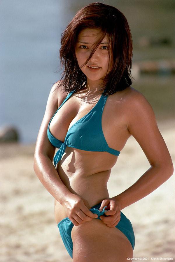 昭和時代のアイドルの水着 13