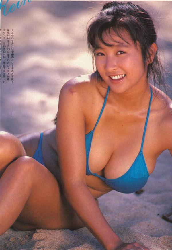 昭和アイドルの水着 35 かとうれいこ