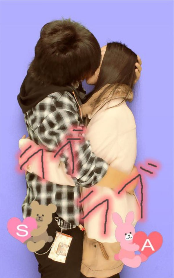 リア充カップルのキス 4
