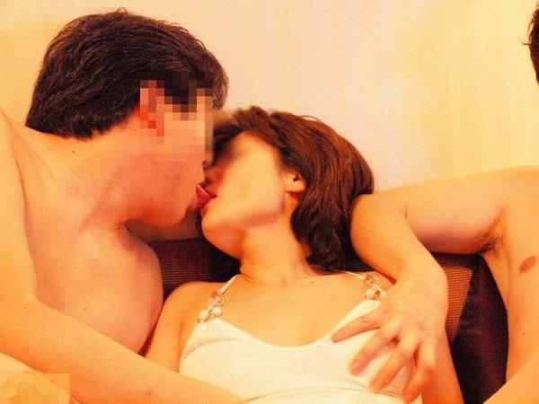 素人リア充カップルのキス 7