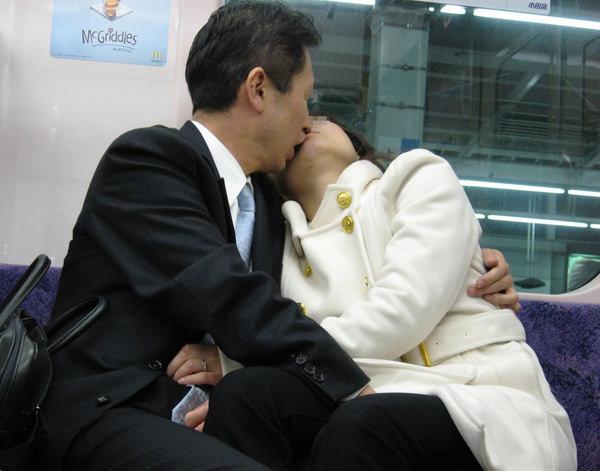 素人リア充カップルのキス 9