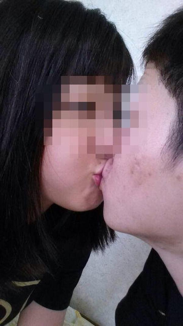 素人リア充カップルのキス 11