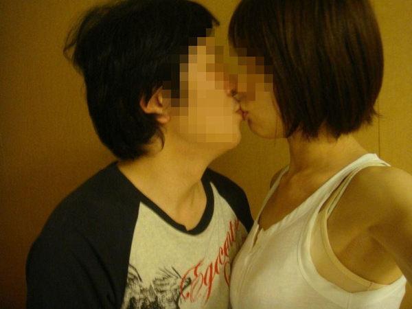 素人リア充カップルのキス 13
