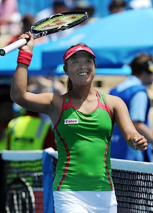 ノーブラで乳首ポッチの海外女子テニスプレイヤー 10