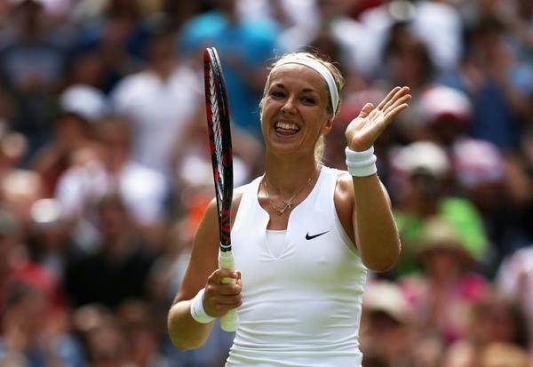 ノーブラで乳首ポッチの海外女子テニスプレイヤー 14