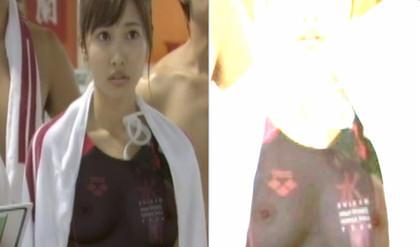佐野ひなこが透けやすい水着を着てチクビ丸見え キタ━━(゚∀゚)━━!!! (画像あり)