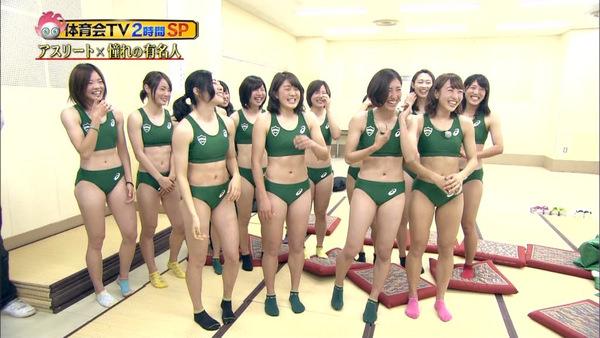 女子陸上選手の腹筋 14