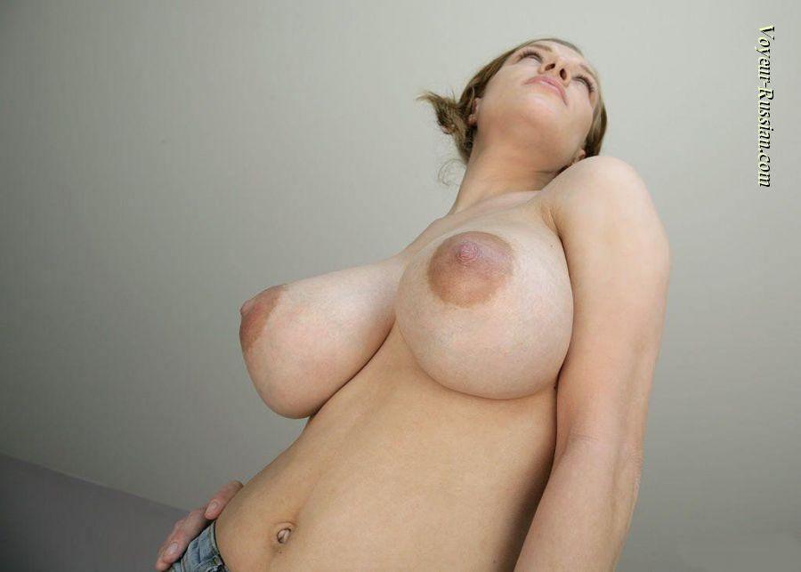 外国人美女のエロすぎる乳房のおっぱい banana tits
