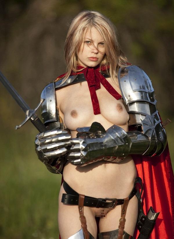 中世ヨーロッパ風の外国人美女ヌード 7