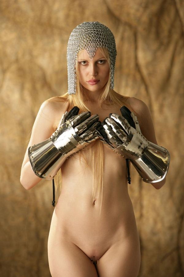 中世ヨーロッパ風の外国人美女ヌード 8