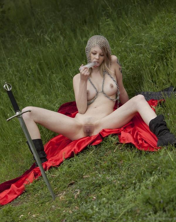 中世ヨーロッパ風の外国人美女ヌード 9