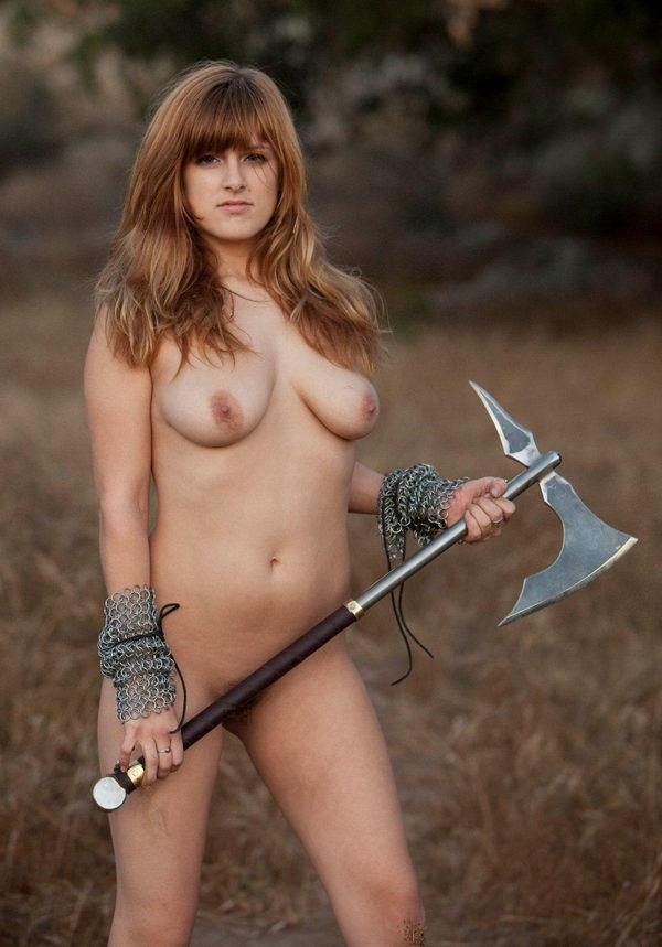 中世ヨーロッパ風の外国人美女ヌード 10