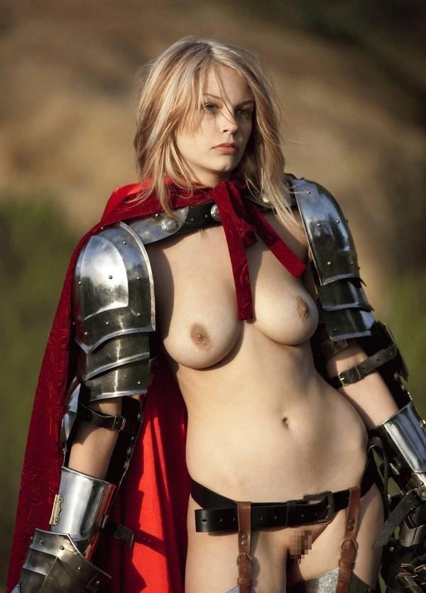中世ヨーロッパ風の外国人美女ヌード 17