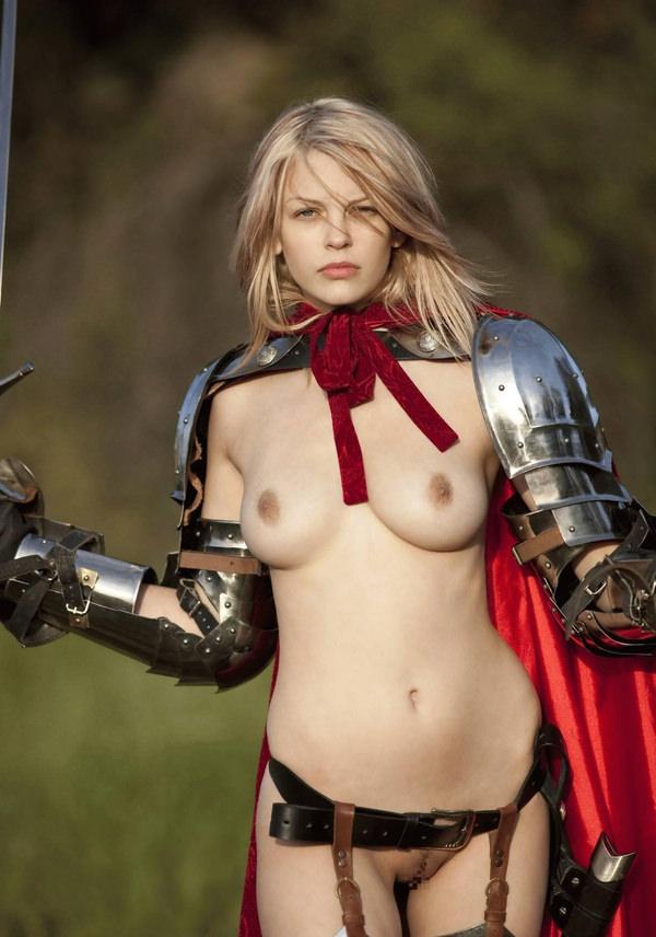 中世ヨーロッパ風の外国人美女ヌード 18