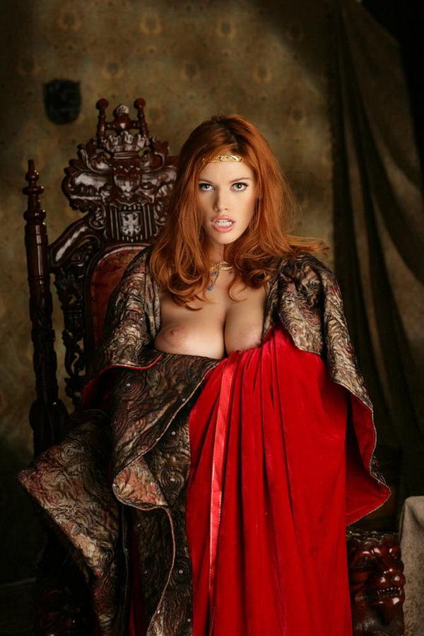 中世ヨーロッパ風の外国人美女ヌード 25