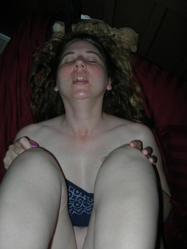 外国人素人熟女のイキ顔 9