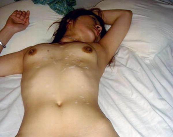 腹射をハメ撮り 1
