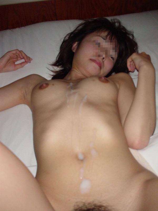 腹射をハメ撮り 13