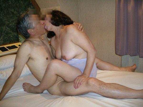 熟女の横乳 6