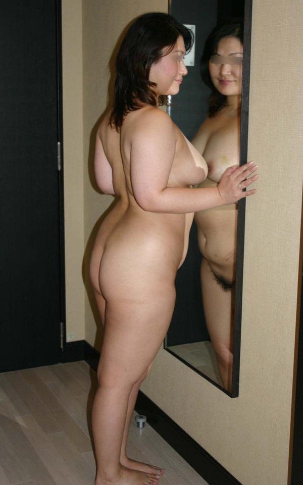 熟女の横乳 18