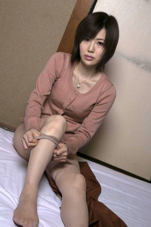 可愛いアラフォー熟女 21