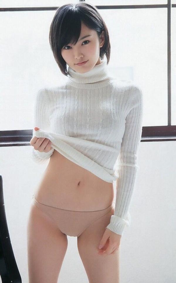 アイドル・グラドルのニット着衣巨乳 15