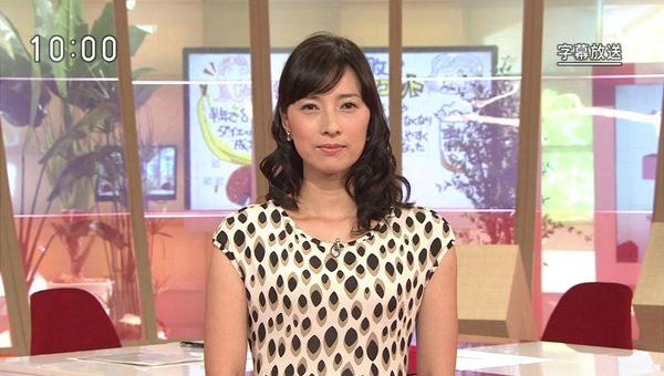 NHKの美人女子アナ小郷知子 1