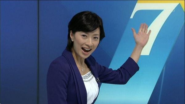 NHKの美人女子アナ小郷知子 2