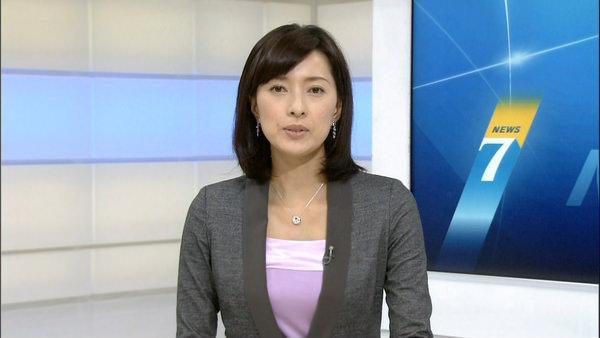 NHKの美人女子アナ小郷知子 6