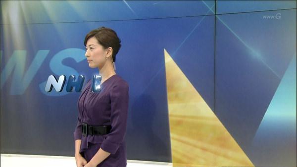 NHKの美人女子アナ小郷知子 7