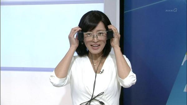 NHKの美人女子アナ小郷知子 8