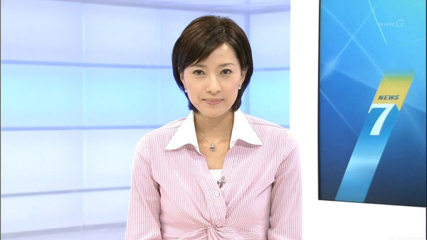 NHKの美人女子アナ小郷知子 11