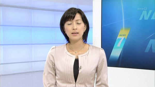 NHKの美人女子アナ小郷知子 13